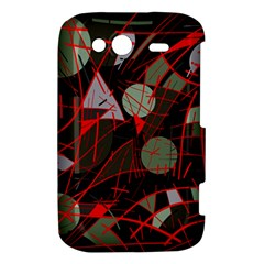 Artistic abstraction HTC Wildfire S A510e Hardshell Case