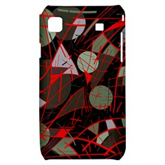 Artistic abstraction Samsung Galaxy S i9000 Hardshell Case