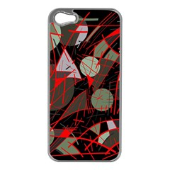 Artistic abstraction Apple iPhone 5 Case (Silver)