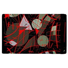 Artistic abstraction Apple iPad 2 Flip Case