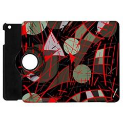 Artistic abstraction Apple iPad Mini Flip 360 Case