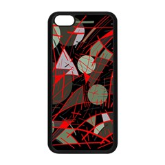 Artistic abstraction Apple iPhone 5C Seamless Case (Black)