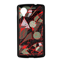Artistic abstraction Nexus 5 Case (Black)