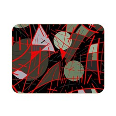 Artistic abstraction Double Sided Flano Blanket (Mini)