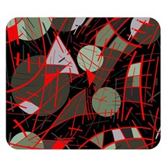 Artistic abstraction Double Sided Flano Blanket (Small)