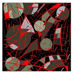 Artistic abstraction Large Satin Scarf (Square)