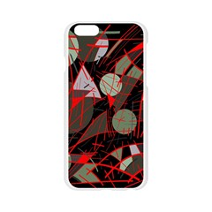 Artistic abstraction Apple Seamless iPhone 6/6S Case (Transparent)