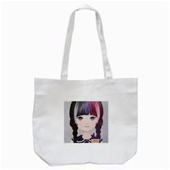 Tapioca Now 2 Tote Bag (White)