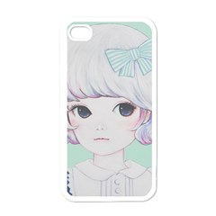 Spring Mint! Apple iPhone 4 Case (White)