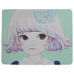 Spring Mint! Jigsaw Puzzle Photo Stand (Rectangular)