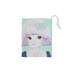 Spring Mint! Drawstring Pouches (XS)