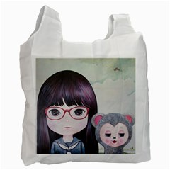 Close Encounter 4 Recycle Bag (Two Side)