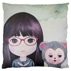 Close Encounter 4 Standard Flano Cushion Case (Two Sides)