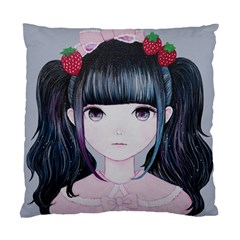 Nakayoshi Strawberry Standard Cushion Case (Two Sides)