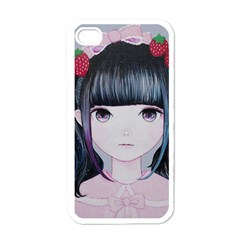 Nakayoshi Strawberry Apple iPhone 4 Case (White)