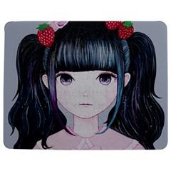 Nakayoshi Strawberry Jigsaw Puzzle Photo Stand (Rectangular)