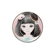 Maybe March<3 Hat Clip Ball Marker