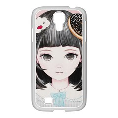 Maybe March<3 Samsung GALAXY S4 I9500/ I9505 Case (White)