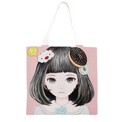 Maybe March<3 Grocery Light Tote Bag