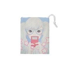 Gamegirl Girl Play With Star Drawstring Pouches (xs)