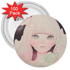 Soy sauce Uchuuw 3  Buttons (100 pack)