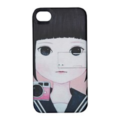 Smile Camare Apple Iphone 4/4s Hardshell Case With Stand