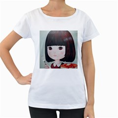 Maplesyrupsyndrome4 0 Women s Loose-Fit T-Shirt (White)