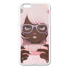 Gamergirl 3 P Apple iPhone 6 Plus/6S Plus Enamel White Case