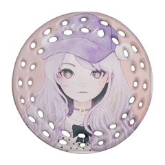 Ricehime Round Filigree Ornament (2Side)