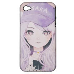 Ricehime Apple iPhone 4/4S Hardshell Case (PC+Silicone)