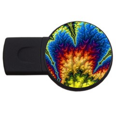 Amazing Special Fractal 25a USB Flash Drive Round (2 GB)