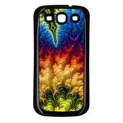 Amazing Special Fractal 25a Samsung Galaxy S3 Back Case (Black)