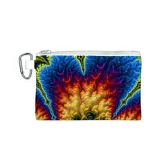 Amazing Special Fractal 25a Canvas Cosmetic Bag (S)