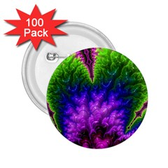 Amazing Special Fractal 25c 2.25  Buttons (100 pack)