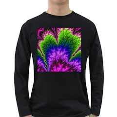 Amazing Special Fractal 25c Long Sleeve Dark T-Shirts