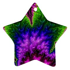 Amazing Special Fractal 25c Star Ornament (Two Sides)