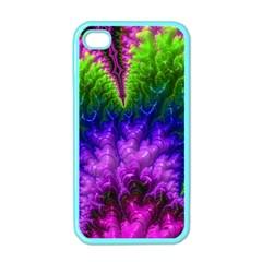 Amazing Special Fractal 25c Apple iPhone 4 Case (Color)