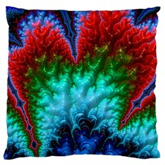Amazing Special Fractal 25b Large Cushion Case (one Side)