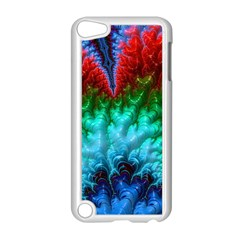 Amazing Special Fractal 25b Apple iPod Touch 5 Case (White)
