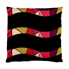 Abstract waves Standard Cushion Case (Two Sides)