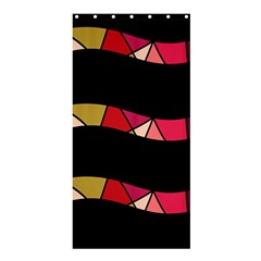 Abstract waves Shower Curtain 36  x 72  (Stall)