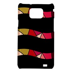 Abstract waves Samsung Galaxy S2 i9100 Hardshell Case