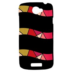 Abstract waves HTC One S Hardshell Case