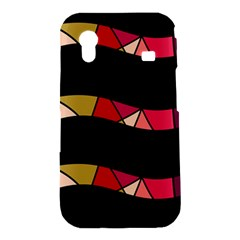 Abstract waves Samsung Galaxy Ace S5830 Hardshell Case