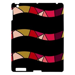 Abstract waves Apple iPad 3/4 Hardshell Case