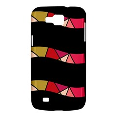 Abstract waves Samsung Galaxy Premier I9260 Hardshell Case