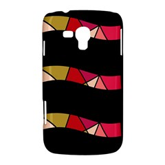 Abstract waves Samsung Galaxy Duos I8262 Hardshell Case