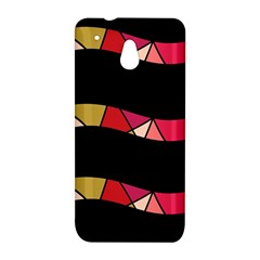 Abstract waves HTC One Mini (601e) M4 Hardshell Case