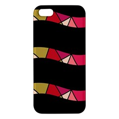 Abstract waves iPhone 5S/ SE Premium Hardshell Case