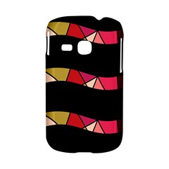 Abstract waves Samsung Galaxy S6310 Hardshell Case